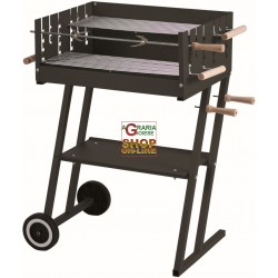 CHARCOAL GRILL STAINLESS STEEL STEAK HOUSE CM.60X45X90H
