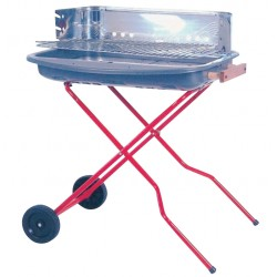 BARBECUE A CARBONE SUPER IDEA MOD. SG 60-40 C-RUOTE