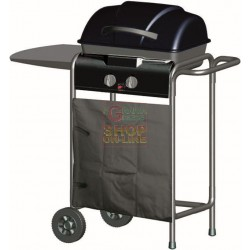 GAS BARBECUE WITH LAVA STONE 10-8203N-2