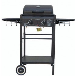 GAS BARBECUE WITH LAVA STONE MOD. ER8203