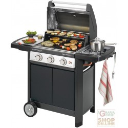 BARBECUE CAMPINGAZ GAS GENESCO 3 CLASSIC DELUX L GRID AND PLATE