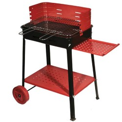 BARBECUE WOOD WITH WHEELS CM. 50X35X80H MOD. 503
