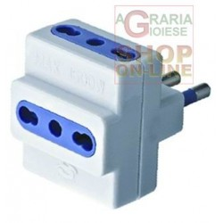 MULTI ADAPTER 250V 16A WITH T