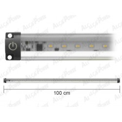LED BAR ULTRA-FLAT, NATURAL LIGHT WITH SWITCH-WATTS. 10 CM. 100