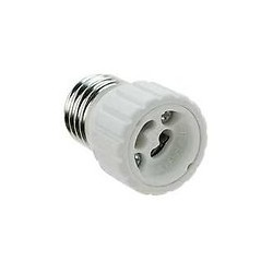 ADAPTER FOR LAMPS with E27-GU10 MAX W60