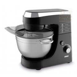 MAX PLANETARY MIXER ELECTRIC STAINLESS STEEL BOWL LT. 4,2 WATT.