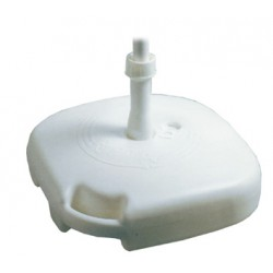 UMBRELLA BASE PVC FRAMEWORK CM. 45X45X10