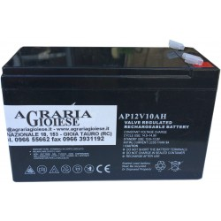 BATTERY FOR PUMP HURRICANE STOCKER TO the LEAD-free