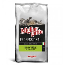 MIGLIORGATTO KG. 17 PROFESSIONAL MIX WITH VEGETABLES