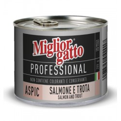 MIGLIORGATTO PROFESSIONAL ASPIC WITH SALMON AND TROUT GR. 200