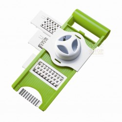 MOHA MANDOLINE PLASTIC 5 FUNCTIONS TO CUT AND GRATE WITH