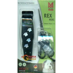MOSER HAIR CLIPPER ELECTRIC 1411 REX MINI WITH 5 ACCESSORIES