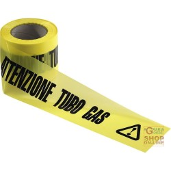 TAPE CAUTION GAS PIPE