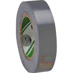 PVC TAPE MM 15 X 10 MT COLOR GREY