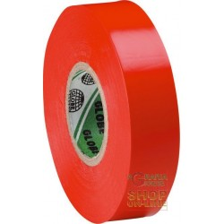 PVC TAPE MM 19X MT 25 COLOR RED