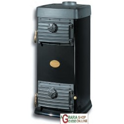 NORDIC WOOD STOVE CONTINUOUS FIRE MOD. MAJOR