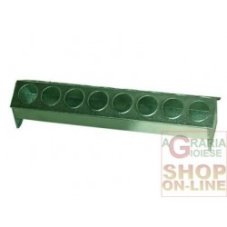 (MAJOR) NOVITAL A FEEDING TROUGH FOR CHICKS IN METAL SHEET WITH