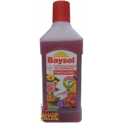 BAYSOL LIQUID FERTILIZER FOR THE NOURISHMENT OF PLANTS, FROM