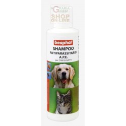 BEAPHAR SHAMPOO anti-PARASITE A. P. E. FOR DOGS AND CATS