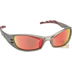 GLASSES TO THE BARLINE TITANIUM FRAME MIRROR LENS RED COLOR