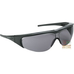 GLASSES MILLENNIA BLACK FRAME GREY LENS TSR ANTI-FOG