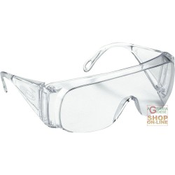 GOGGLES POLYSAFE TO THE BARLINE TRANSPARENT LENSES
