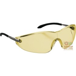 GLASSES BARLINE FRAME CHROME YELLOW LENS DEFOGGING