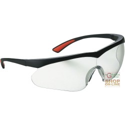 GLASSES BARLINE BLACK FRAME, CLEAR LENS TREATMENT ANTI-SCRATCH
