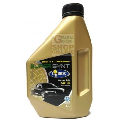 OIL SUPER SYNT FOR PETROL ENGINES AND TURBO DIESEL 5W 30 LT. 1