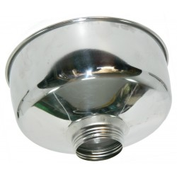 HE FUNNEL STAINLESS STEEL CM. 22 LARGE SCREW TO ALLAH 2810 2811