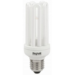 BEGHELLI LAMP LOW POWER CONSUMPTION MOD. COMPACT E27 W23