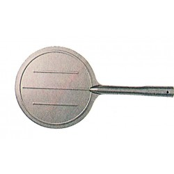 SHOVEL FOR OVEN IN STAINLESS STEEL FOR ROUND PIZZA OR PALINO