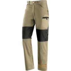 PANTS 60% COTTON 40% POLYESTER, REINFORCEMENTS IN POLYESTER