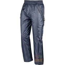 TROUSERS POLYESTER PVC PADDED COLOR BLUE TG S M L XL XXL