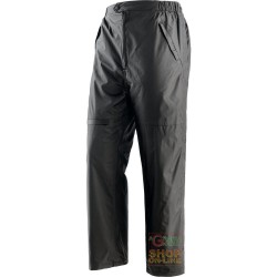 TROUSERS POLYESTER PVC PADDED DETACHABLE FLEECE OPENING AT THE