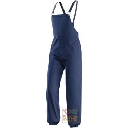 BIB PANTS 100% COTTON GR 280 ANTIMPIGLIAMENTO BLUE TG 48 60