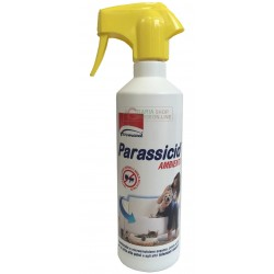 Parassicid spray ready to use insecticide against fleas and