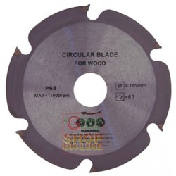 BEST CUT DISC FOR WOOD MM 115 X 2 X 22.2