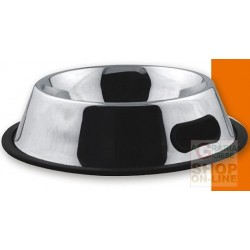 PET TRIBE STEEL BOWL ANTI-SLIP MEASURES 1 CM. 11