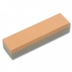 STONE 2-SIDED ALUMINIUM oxide 10x12x100 GREY/ORANGE