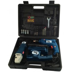 BEST QUALITY SET OF 3 POWER TOOLS DRILL TR500 - GRINDER SM115 -