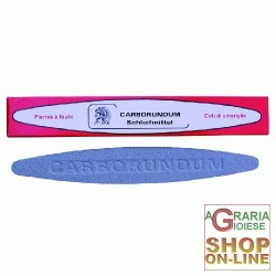 SHARPENING STONE CARBORUNDUM ORIGINAL OVAL CM. 22