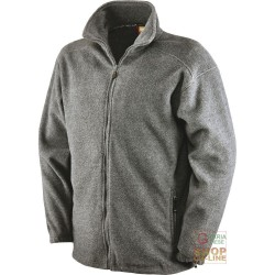 FLEECE 100% POLYESTER, WITH ZIPPER AT THE BOTTOM COLOR-LIGHT