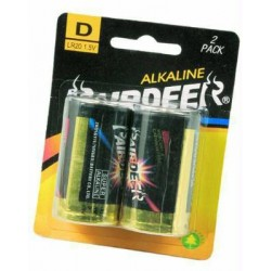 BATTERIES PAIRDEER ALKALINE 2 PIECES TORCH