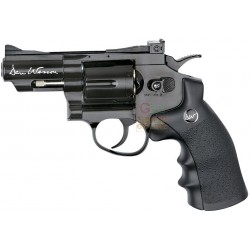 GUN CO2 AIRSOFT DAN WESSON 2.5 INCH REVOLVER CALIBER, MM 6