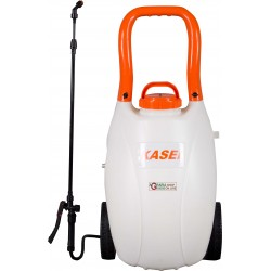PUMP SPRAYER TROLLEY RECHARGEABLE BATTERY KASEI WITH WHEELS