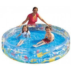 BESTWAY 51004 INFLATABLE SWIMMING POOL FOR CHILDREN, THREE