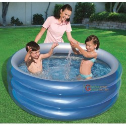 BESTWAY 51041B POOL ROUND BLUE FOR CHILDREN CM. 150x53h.