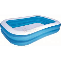 BESTWAY 54006 INFLATABLE POOL, RECTANGULAR CM. 175X269X51H
