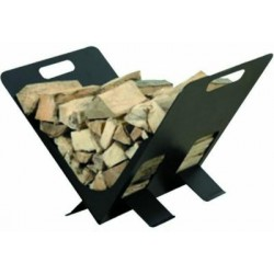 FIREWOOD HOLDER STEEL RIGHT ANGLE CM. 40X32X45H